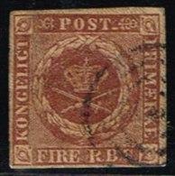 1851. 4 R.B.S. Chocolate-brown. Ferslew Print. (Michel: 1I) - JF158499 - Neufs