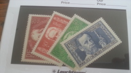 LOT 242745 TIMBRE DE FRANCE NEUF** N�330 A 333 VALEUR 70 EUROS LUXE