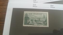 LOT 242766 TIMBRE DE FRANCE NEUF** N�394 VALEUR 100 EUROS  LUXE