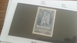 LOT 242768 TIMBRE DE FRANCE NEUF** N�399 VALEUR 20 EUROS  LUXE