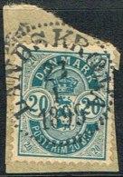 1899. LANDSKRONA 23 1 1899 On 20 øre.  (Michel: ) - JF164724 - Danemark