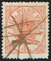1865. Large Oval Type. 4 Skilling Bright Red. Perf. 13x12½ X Interesting.  (Michel: 13Aa) - JF164092 - 1864-04 (Christian IX)