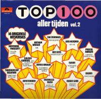 * LP *  TOP 100 ALLER TIJDEN Vol.2 - Jimi Handrix / Cream /  James Brown / Monkees A.o. (Holland 1972 EX-!!!) - Compilaties