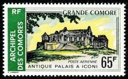COMORES 1971 - Yv. PA 34 ** Cote= 4,70 EUR - Grande Comore : Antique Palais à Iconi ..Réf.AFA21785 - Komoren (1950-1975)