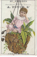 Image Chromo AU PROGRES Anc Etb Gratier A POYOU Sr Rue St Luc CHATEAUROUX 36 Indre Berry - Trade Cards
