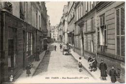 75. Paris. Rue Beautreillis. Angle Haut Droit Abimé - Arrondissement: 04
