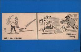 SPORTS - GOLF - Dessin Tirée D'une Revue De 1958 Et Collé Sur Feuillet - Autres Collections