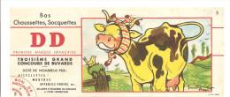 Buvard DD Bas Chaussette Soquettes Illustration De Maurice Parent Offert Enfantillage 3,Rue D'Alsace à Angers - Textile & Clothing
