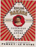 étiquette :rhum  Pernet  Le  Havre  ,  Rhum  Bakara - Rhum