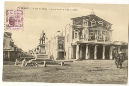 S2179 - Port-Louis - Pace Du Théâtre - Statue De Sir J.Pope Hennessy - Maurice