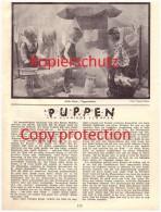 Original Zeitungsbericht - 1930 - Puppen , Käte Kruse , Puppe !!! - Puppen