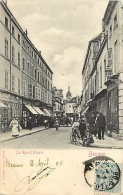 Dept Div -cote D Or -ref X510- Beaune - La Rue D Alsace  - Carte Bon Etat  - - Beaune