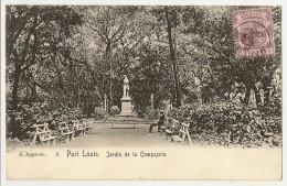 S2182  - PORT LOUIS (N°8) - Jardin De La Compagnie - Maurice