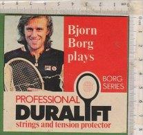 PO9778C# ADESIVO STICKERS - BJORN BORG PLAYS - PROFESSIONAL DURALIFT - TENNIS - Tennis