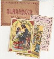 PO9874C# CALENDARIETTO ALMANACCO PROFUMATO - PARRUCCHIERE PROFUMI - SANGUE E ARENA Ed.Mignani - Calendriers