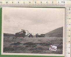 PO9880C# FOTOGRAFIA AGRICOLTURA - MEZZI DA LAVORO TRATTORI ARATRI - Photos