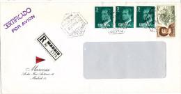 Spain Registered Cover Madrid 20-3-1980 - 1931-Heute: 2. Rep. - ... Juan Carlos I