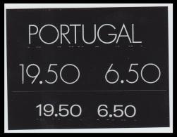 Portugal Sc1482-3 Science Academy, Académie Des Sciences, Text, Rare Unique Unadopted Artist's Film Proof, Epreuve - Ciencias