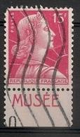 Timbre à Bande Publicitaire Type Muller N° 1011a. 15F Rouge. Réclame Pub Publicité Carnet - Publicités