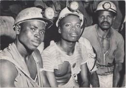 GHANA,afrique,prés Cote D´ivoire,GOLD MINE,mine D´or OBUASI Dans L´ashanti,GUEULES NOIRES,mineur De Fond,centre Sud,rare - Ghana - Gold Coast