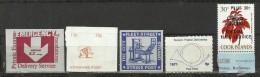GRÈVE POSTALE BRITANNIQUE DE 1971 : 11 VIGNETTES - 1971 BRITISH POSTAL STRIKE : 11 CINDERELLAS - Werbemarken, Vignetten