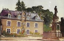 Auxonne (Côte D´Or) - Statue De Napoléon 1er Et Hôtel De Ville - Edition Combier - Auxonne
