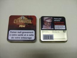 BOITE Métal Vide CLUBMASTER MINI Superior Vanilla (20 Cigares) - Contenitore Di Sigari