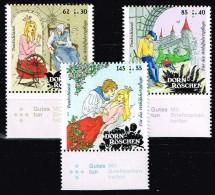 Bund 2015, Michel# 3132 - 3134 ** Grimms Märchen, Dornröschen - Unused Stamps