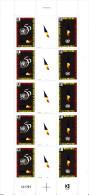 Andorre 1995 - N° 465A ( 464 Et 465 ) Feuille Entière De 5 Paires - Neuf** 1er Choix - French Andorra