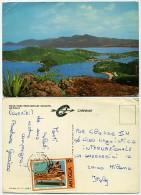 Antigua - Dock Yard From Shirley Heights - Used 1980 - Nice Stamp - Antigua E Barbuda