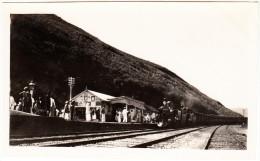 MAILTRAIN Arriving At Diyatalawa Station  (Sri-Lanka) - 1930's - Trains