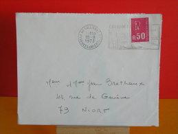 Flamme - 66 Pyrénées Orientales, Collioure, .......... - 18.8.1973 - Postmark Collection (Covers)