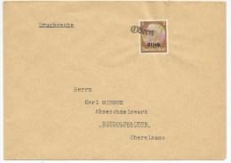 Pa239 - Provisoire ODERN - 1940 - Hindenburg Surchargé Elsass - Gummistempel - - Alsace-Lorraine
