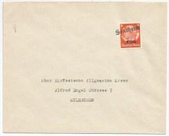 Pa244- Provisoire SENTHEIM - 1940 - Hindenburg Surchargé Elsass - Gummistempel - - Alsace-Lorraine