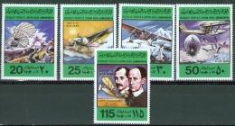 Libya 1978 75th Anniversary Of 1st Powered Flight MNH** - Lot 3423 - Libye