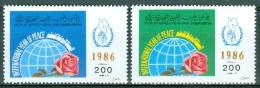 Libya 1986 Intl. Peace Day MNH** - Lot 3421 - Libye