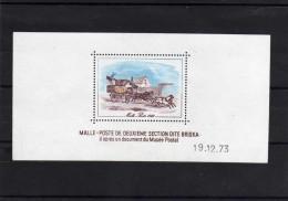 "France: 1973 Belle épreuve Couleur ""malle Poste 1842"" - Pruebas De Lujo"