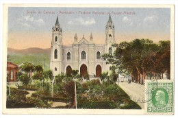 S2221 - Saludo De Caracas - Panteon Macional Y Parque Miranda - Venezuela