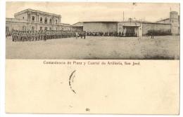 S2222 - Comandancia De Plaza Y Cuartel De Artilleria, San José - Costa Rica