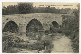 ARGENTON-CHÂTEAU. - Le Pont- Neuf - Argenton Chateau