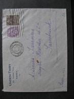 BLM 46 -TB Enveloppe Affranchie Avec N° 233 Et 271;  De Nancy Pour La Sarre ( 04/ 11 / 1932 ) . - Marcophilie (Lettres)