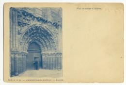 ARGENTON-CHÂTEAU. - Le Portail De L´Eglise XIIè Siècle - Argenton Chateau