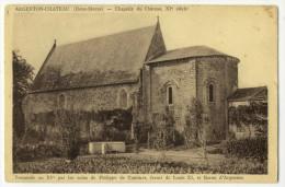ARGENTON-CHÂTEAU. - Chapelle Du Château XI è Siècle - Argenton Chateau