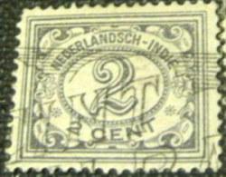Netherland Indies 1928 Numeral 2c - Used - Netherlands Indies