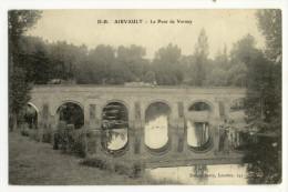 AIRVAULT. - Le Pont De Vernay. Vue D'un Attelage Sur Le Pont - Airvault