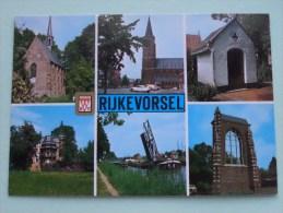 Groeten Uit Rijkevorsel / Anno 19?? ( Zie/voir Foto Voor Details ) !! - Rijkevorsel
