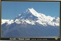 K2754 New Zealand - Mount Cook Aoraki / Non Viaggiata - Nuova Zelanda