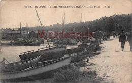 17 - ILE D'OLERON - Saint Trojan Les Bains - Le Port - 2 Scans - Ile D'Oléron