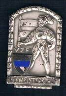 FELOMEISTERSCHAFT V.Z.F. SOLDADO CON BANDERA - Monedas