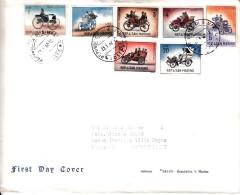 Busta First Day Cover SAN MARINO 23-1-1962-7 FRANCOBOLLI SU BUSTA - San Marino